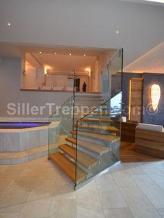 Modern Staircase Floating Staircase Design, Pictures, Remodel, Decor and Ideas - page 130