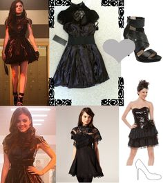 Pretty Little Liars: Aria's Bebe Homecoming Dress - buy this #dress with http://dressapp.tv