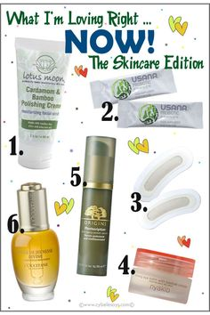 What I'm Loving Right ... NOW! The Skin Care Edition  www.cybelesays.com @origins @lutusmoon @usanainc @loccitane @nyakiobeauty @RodanFieldsHQ #beauty #skincare