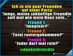 Neue Freunde gesucht! #Freunde #fies #foreveralone #dankefürnichts #lustigeBilder #Humor