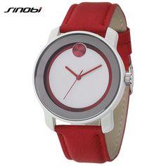 $13.99 (Buy here: https://alitems.com/g/1e8d114494ebda23ff8b16525dc3e8/?i=5&ulp=https%3A%2F%2Fwww.aliexpress.com%2Fitem%2F2014-NEW-Fashion-Brand-Sinobi-S8102-wristwatches-Women-s-Fashionable-Analog-Quartz-Wrist-Watch-with-Faux%2F1996929241.html ) 2016 NEW Fashion Brand Sinobi S8102  wristwatches, Women's Fashionable Analog Quartz Wrist Watch with Faux Leather Band (red) for just $13.99