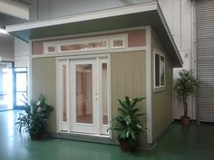 wow -- this would really cut the price of the house down -- more for land, maybe an ocean view.    Tuff Shed Tiny Houses