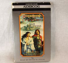 Dragonlance Legends Volume 2 War of the Twins Audio Book on Tape 2 Cassettes