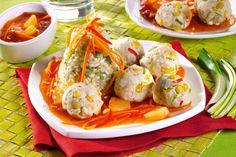 Fantezie thailandeză - Retete culinare - Romanesti si din Bucataria internationala Challah, Gazpacho, Fresh Rolls, Shrimp, Vegan, Ethnic Recipes, Food, Essen, Meals