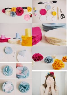 flower hair accessory, Kim make me one of this .