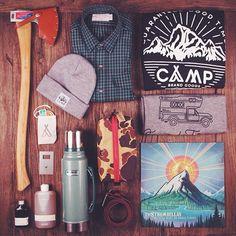 NuBuiten inspiratie // Camp Brand Goods