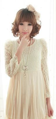 A gorgeous lace frill top <3