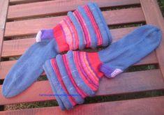 Hamburger Arroganz: RUMS 43/17: Socken mit Biesen nach Charles D. Gand...