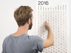 Nye Gadgets - Bobleplastkalender 2016, Pop en plastboble om dagen i et helt år!