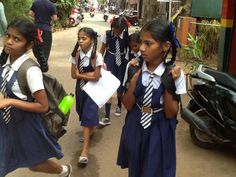 Goa Margao da öğrenciler :)
