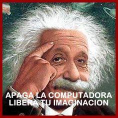 APAGA LA #COMPUTADORA LIBERA TU IMAGINACION  _____________________________  Shutdown #Computer Free Your Imagination