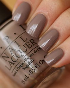OPI - Berlin there done that. I'm excited to see this taupe in person!