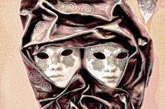 Venetian Carnival Mask  Picture by Gnuckx