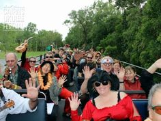 Open topped bus / Eddy Finn Ukulele Mystery Tour 2012