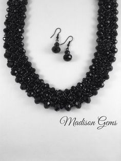 'Art Deco Necklace Set' available at www.madisongems.com