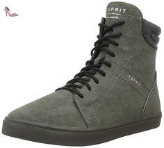 Miana, Sneakers Hautes Femme, Rose (Dark Old Pink 675), 38 EUEsprit