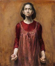Helene Knoop (b. 1979, Norway) , Furious (self-portrait)