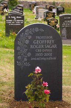 Decorative Headstone Designs By Artist Craftsman Ieuan