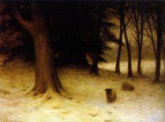 Joseph FarquharsonBritish, 1846 - 1935 A Winter Evening
