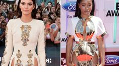 Just plain tacky...Hot Trend Alert: Celebrities Flaunt 'Pelvage' on the Red Carpet