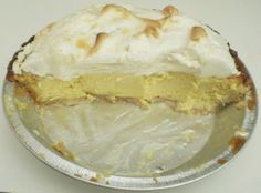 Authentic Key Lime Pie - really good but didn't completely set...might need a couple minutes in the oven