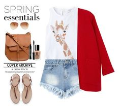 """""""Giraffe.."""" by gul07 ❤ liked on Polyvore featuring MANGO, Derek Lam, Radley, Zara, Tommy Hilfiger, Clinique and Lord & Berry"""