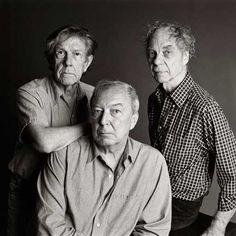 1998, John Cage, Jasper Johns, Merce Cunningham
