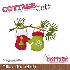 CottageCutz Mitten Time (4x4)