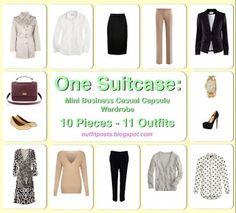 Outfit Posts: one suitcase: paris vacation capsule wardrobe#.U3lYZSxOWUl#.U3lYZSxOWUl