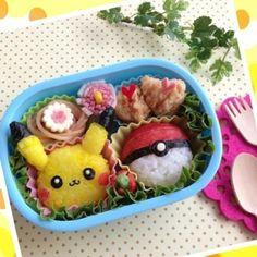 Pokemon Pikachu bento box