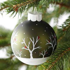 Esferas de Navidad #manualidades