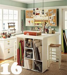 23 Sensational Home Offices {inspiration}