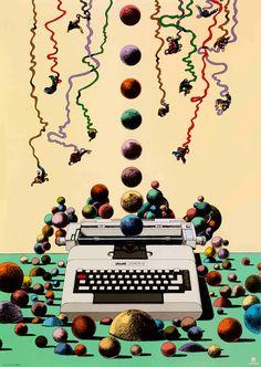 Milton Glaser Questions Design's Relationship with Art—and Finds an Answer Milton Glaser, Massimo Vignelli, Herb Lubalin, Vintage Ads, Vintage Posters, Mundo Design, Bob Dylan Poster, Pop Art, Stefan Sagmeister