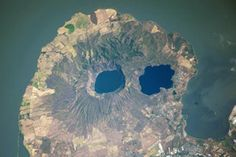 Apoyeque Volcano, Nicaragua : Image of the Day : NASA Earth Observatory