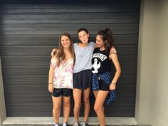 Libby, Sophie and me before Future Sound System 2015! Lol love it