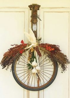 Bicycle to wreath !!
