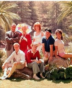 I've been watching Gilligan's Island all day, and my one question about it: if they were only going on a three-hour tour, why did they bring a change or seven of clothes?