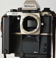 NIKON F3 TITANIUM F3/T Best Camera For Photography, Photography Gear, Photography Equipment, Antique Cameras, Old Cameras, Vintage Cameras, Nikon Camera Lenses, Camera Nikon, Best Dslr
