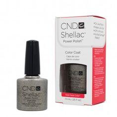 CND Shellac Gold Silver Stell Gaze