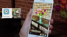 Ya es posible dibuja sobre los videos grabados en directo desde la app Periscope. Todo lo que tendrás que hacer es dibujar sobre la pantalla de tu dispositivo a la vez que grabas.