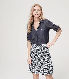 Image of Pinwheel Circle Skirt