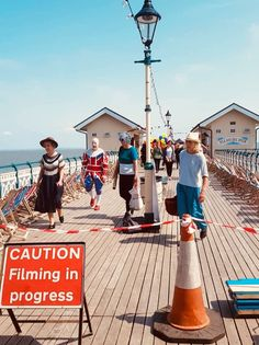 What Penarth would look like.if it was Bexhill on Sea - Penarth View Eddie Izzard, James D'arcy, Finishing School, Judi Dench, 1930s, Thriller, Lighthouse, In This Moment, Sea