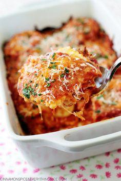 3-ingredient ravioli lasagna is an easy, healthy weeknight dinner option
