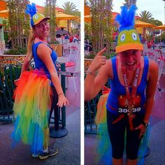 Kevin RUn DIsney costume optionYou can find Running costumes and more on our website.Kevin RUn DIsney costume option Disney Halloween, Up Halloween Costumes, Run Disney Costumes, Hallowen Costume, Bird Costume, Up Costumes, Disney Cosplay, Halloween Party, Costume Ideas