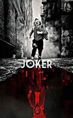 You just have to look at it from the right side. Batman Joker Wallpaper, Joker Iphone Wallpaper, Joker Wallpapers, Der Joker, Joker Dc, Joker And Harley Quinn, Gotham, Joker Film, Joker Drawings