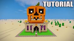 Minecraft: How to build a scary house tutorial. 2017 This is a tutorial of a big pumpkin house with a scary face that would look epic in a survival world. This is a minecraft halloween tutorial. Made from red sandsone and the new nether warts blocks for the toungue. sharp teeth, scary spooky easy house. Minecraft tutorial: How to make a Skeleton house: ► Subscribe and join the TEAM! :: ► Follow Me on Twitter :: ► Help Feed A1mostaddicted :: ► Previous Video :: ► Download My Free Minecraft…