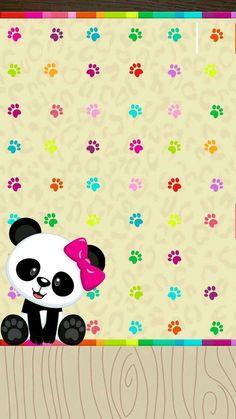 Ideas for wall paper cute kawaii panda Panda Wallpaper Iphone, Cute Panda Wallpaper, Bear Wallpaper, Animal Wallpaper, Cellphone Wallpaper, Kawaii Cute Wallpapers, Panda Wallpapers, Panda Day, Panda Love