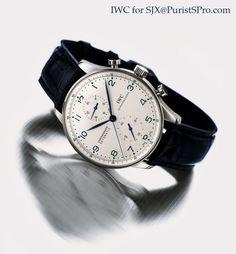 IWC Portuguese Chronograph  Movement: pellaton automatic winding Calibre: 51011 Jewels: 42