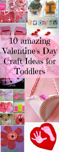 handprint valentine crafts for kids toddler times pinterest
