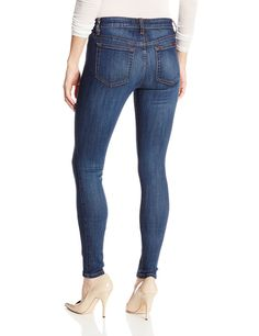 Joe's Jeans Women's Flawless Mid Rise Skinny Jean In Tahlia at Amazon Women's Clothing store: